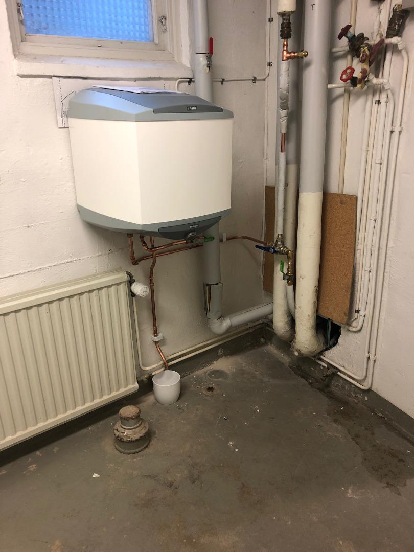 Montering av varmvattensbredarte 2