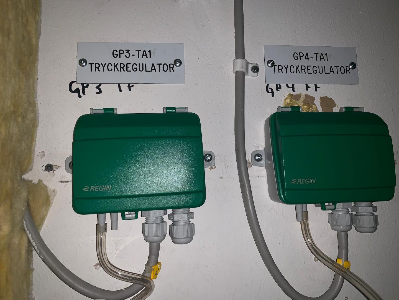 Tryckgivare ventilation ny